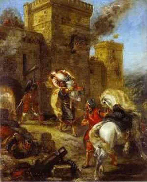 The abduction of rebecca 1858 xx louvre paris france